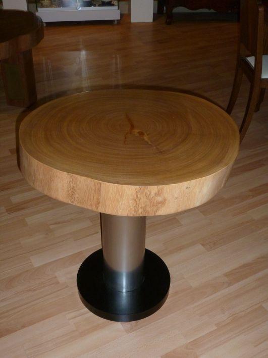 Atelier bertrand bertrand schuhmacher - Table basse tronc d arbre ...